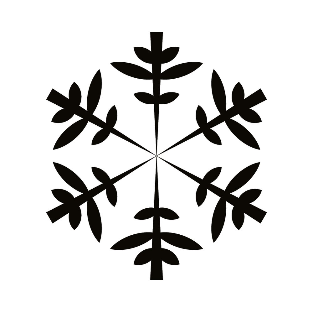 snowflake leaf patterned christmas wall stickers seasonal decor art decals ebay. Black Bedroom Furniture Sets. Home Design Ideas