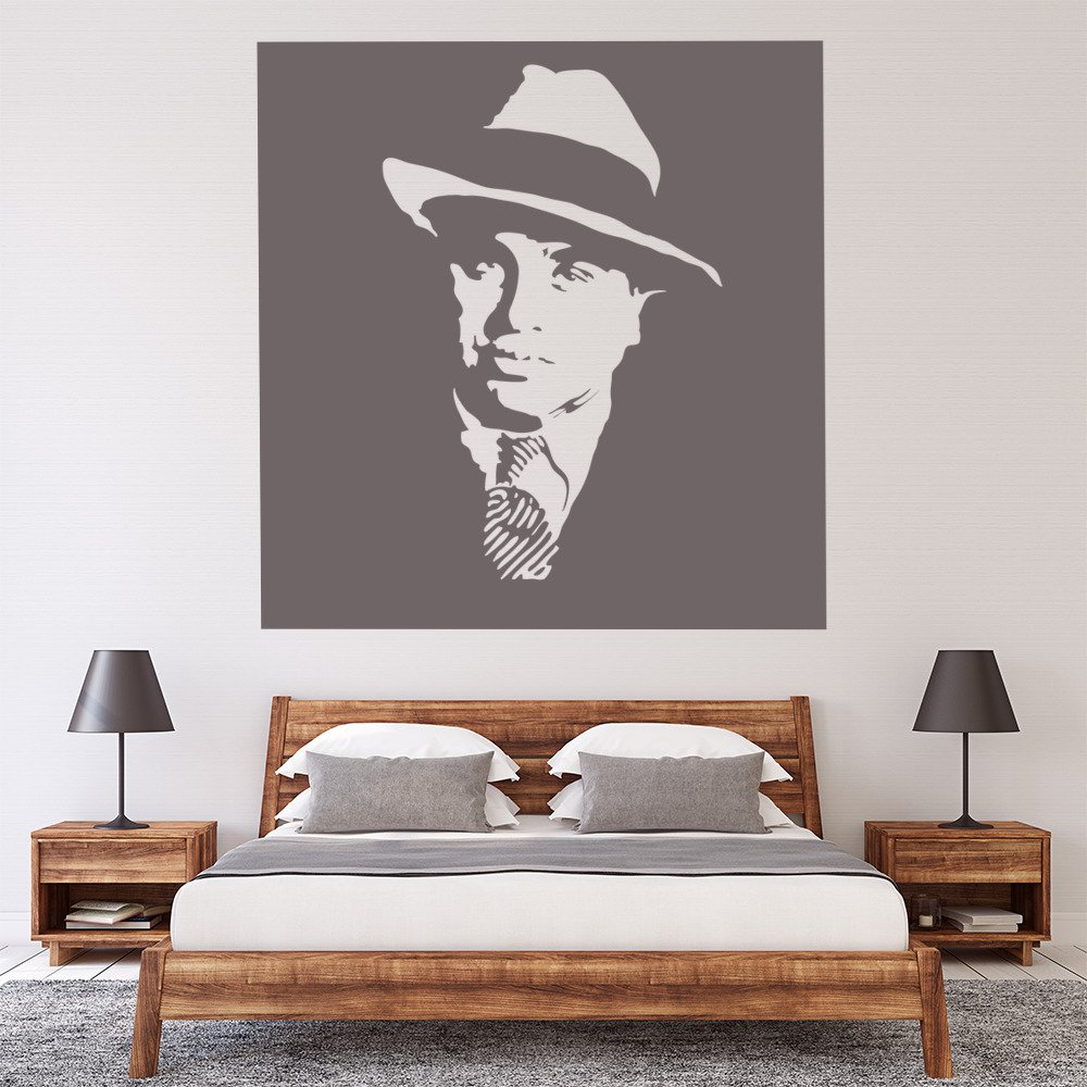 Han solo star wars vintage movie wall art sticker f033 ...