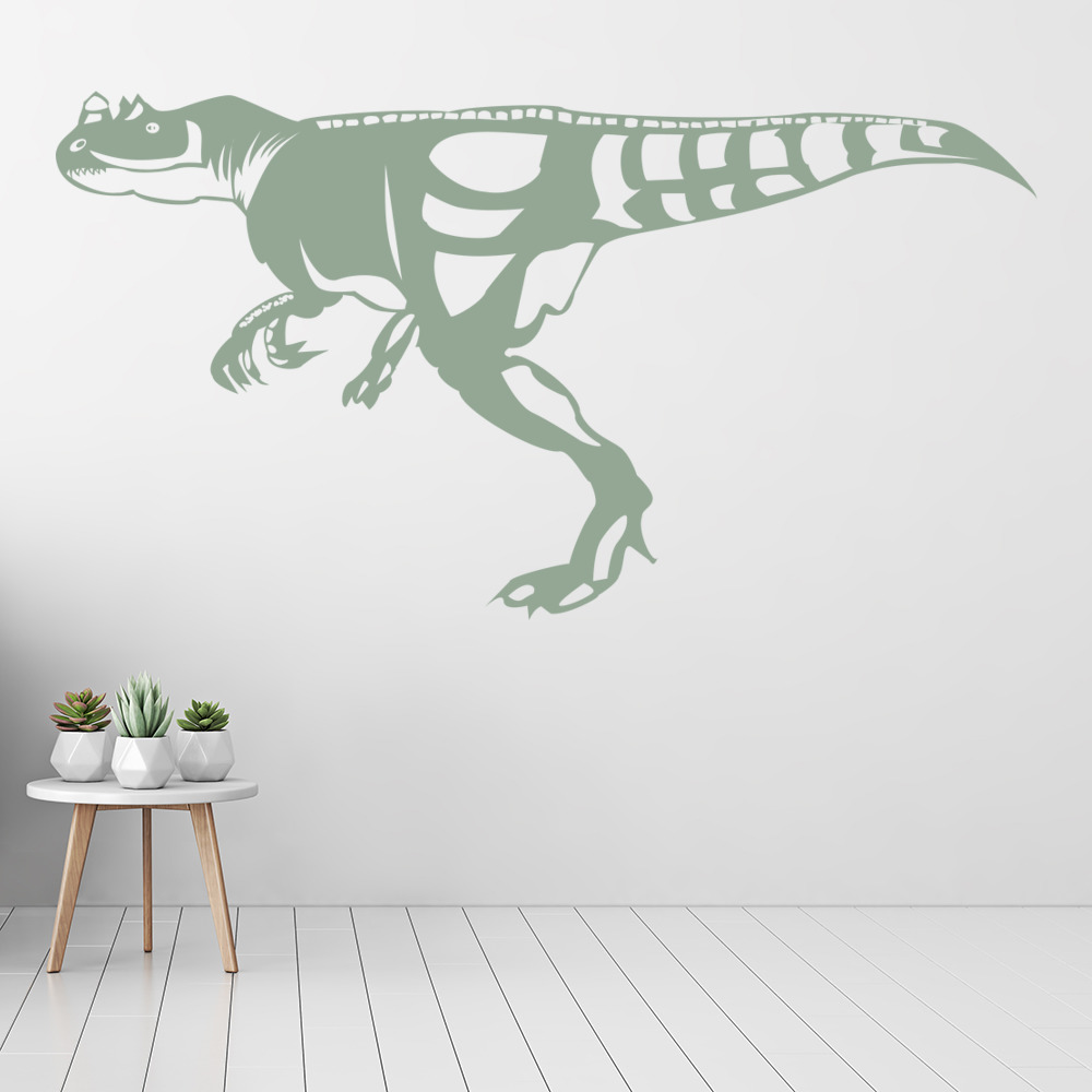 t rex prehistoric dinosaur wall stickers kids nursery