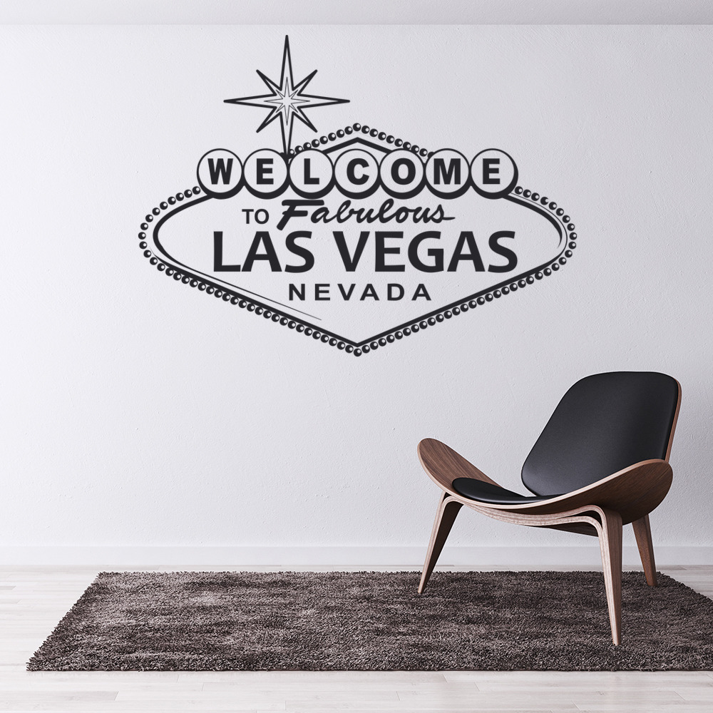 Las Vegas Nevada Welcome Sign America USA Wall Stickers