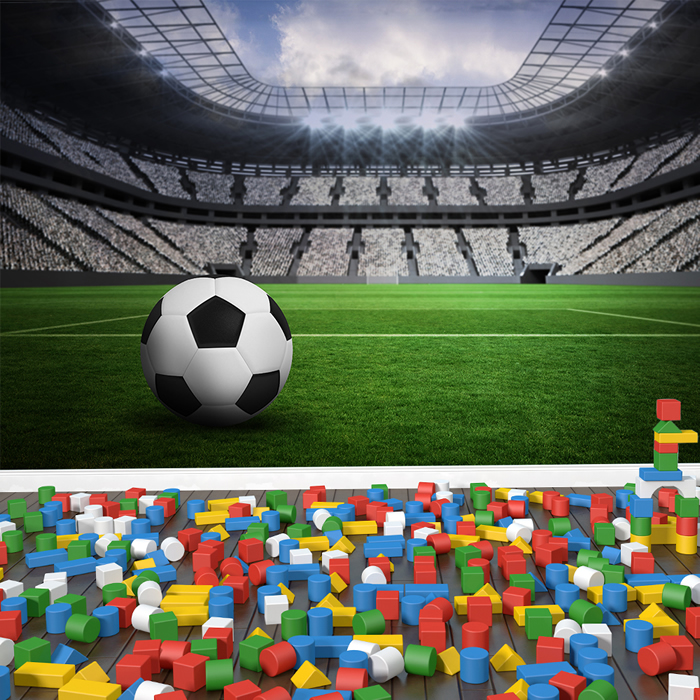 Football Wall Mural Football Stadium Photo Wallpaper Boys Bedroom Home Decor Part 31