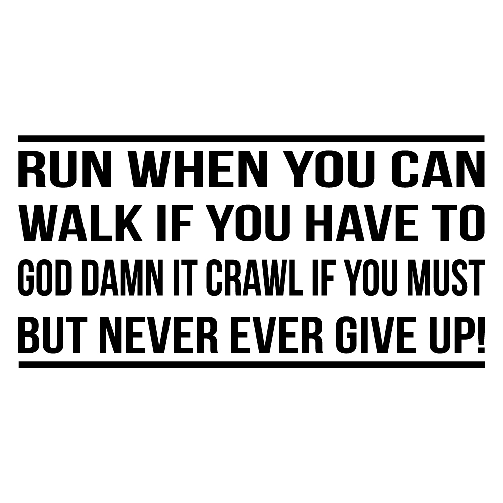 never give up motivational inspirational quotes wall shopisky motivational wall sticker for life buy shopisky