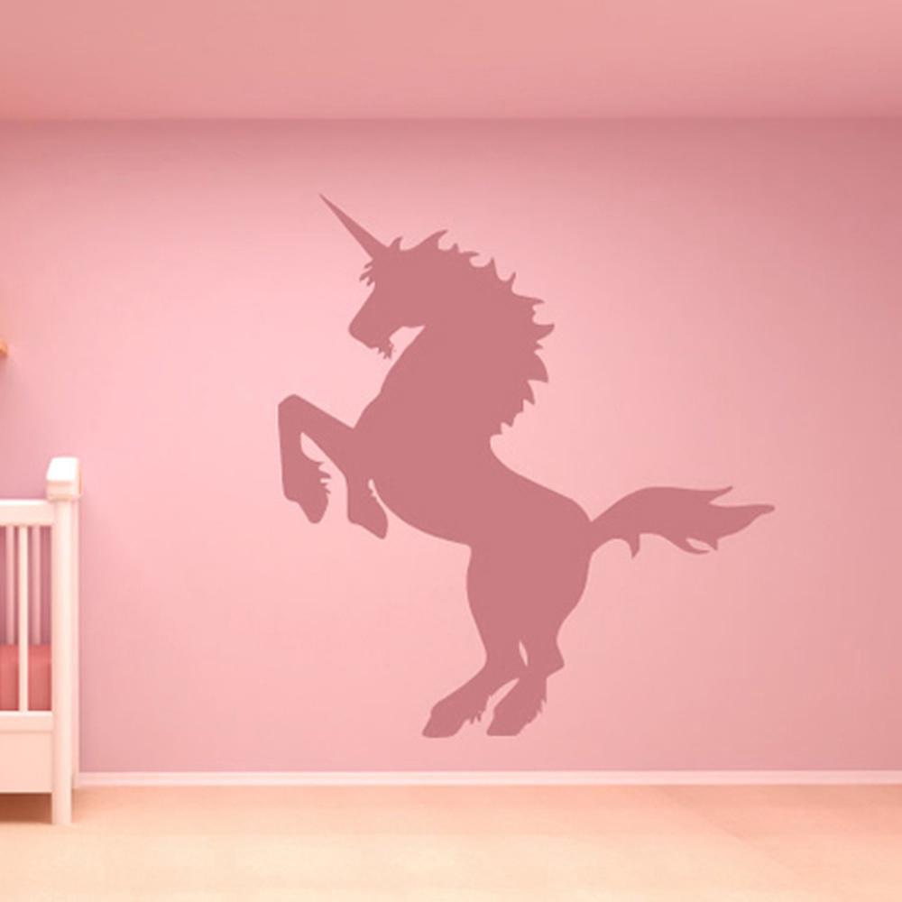 картинка на стене с единорогом так можно получить