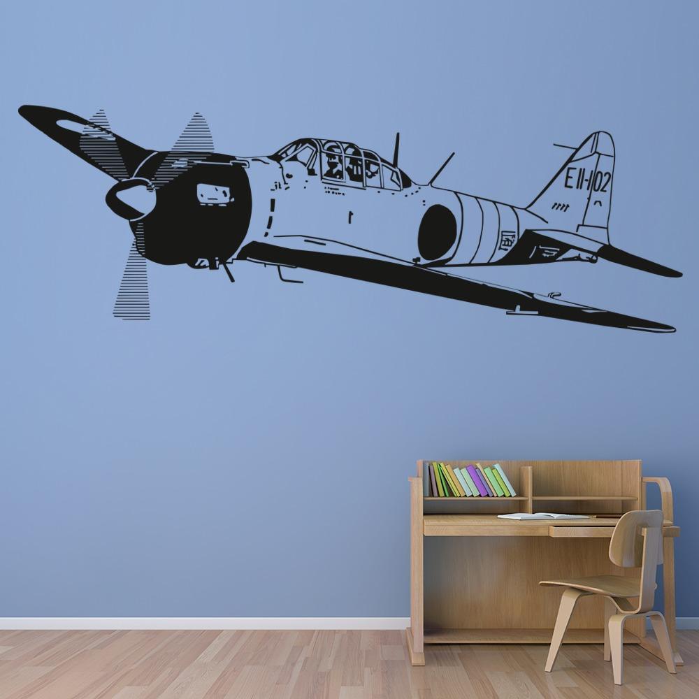 RAF Spitfire world war 2 air force fighter jet plane    Wall Decals /& Stickers