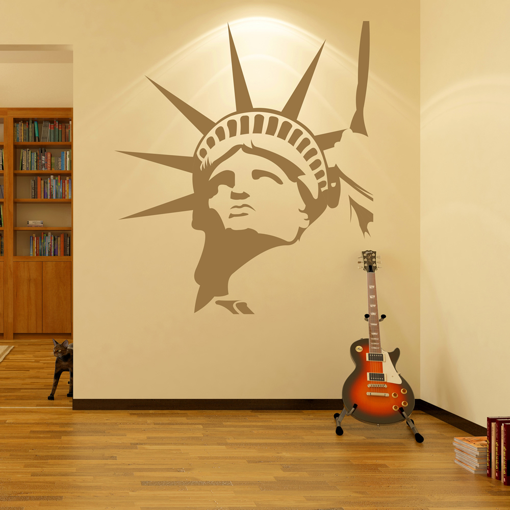Statue Of Liberty Wall Sticker New York City Wall Decal USA Home ...