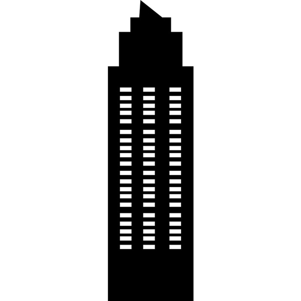 Skyscraper Silhouette Rest Of The World Wall Stickers Home