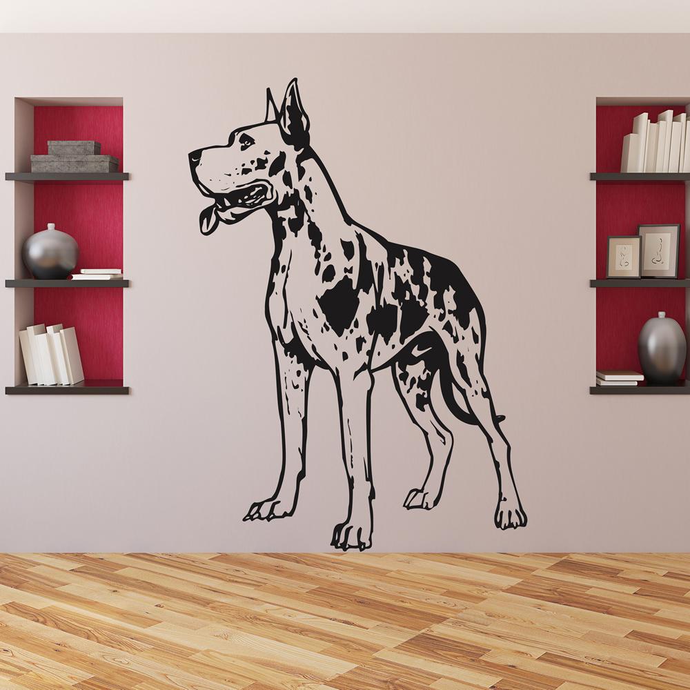 Great Dane Dog Wall Sticker WS-17455