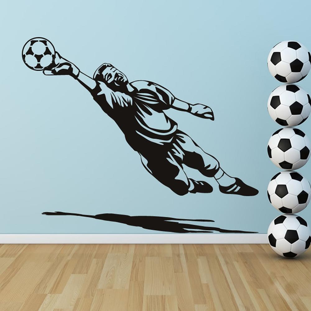 Portero vinilos decorativo deportes f tbol adhesivos for Adhesivos pared dormitorio