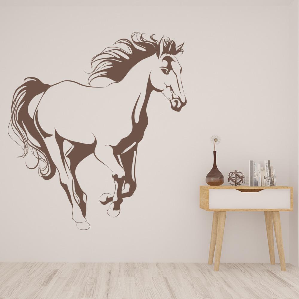 Cavallo Adesivo da parete Fattoria degli animali Adesivo Camera da ...