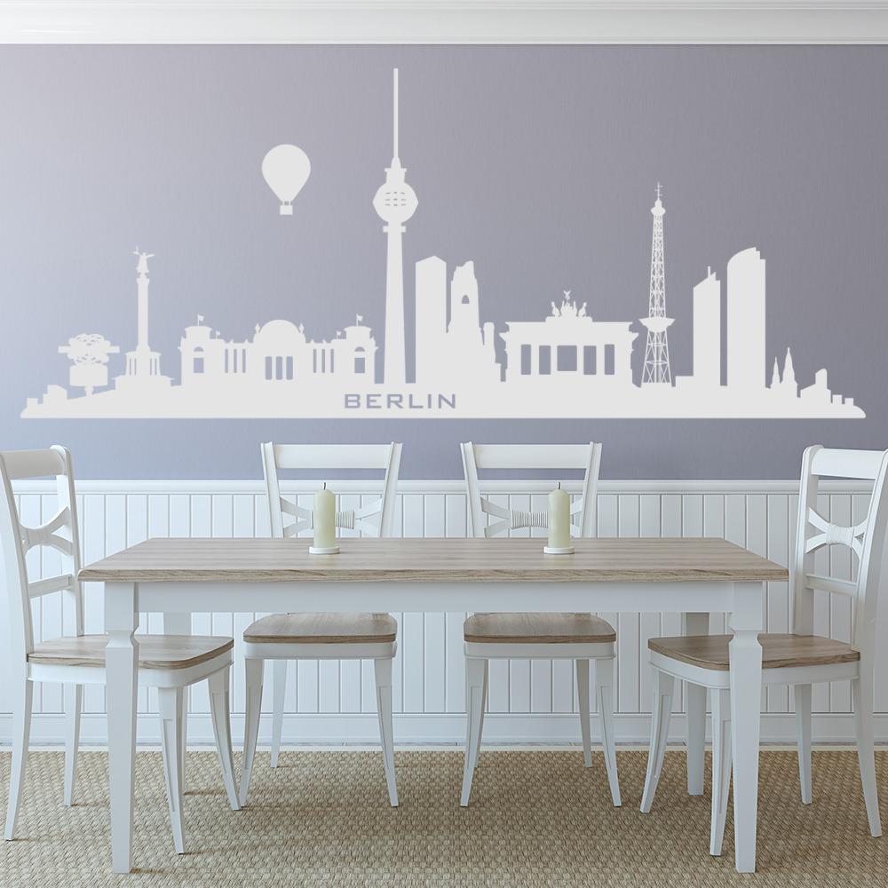 Berlin City Skyline Wall Sticker Germany Wall Decal Bedroom Home ...