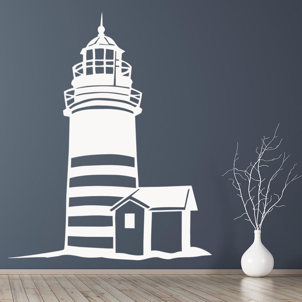 Lighthouse Beach Nautical Wall Decal Sticker Ws 18903 Ebay