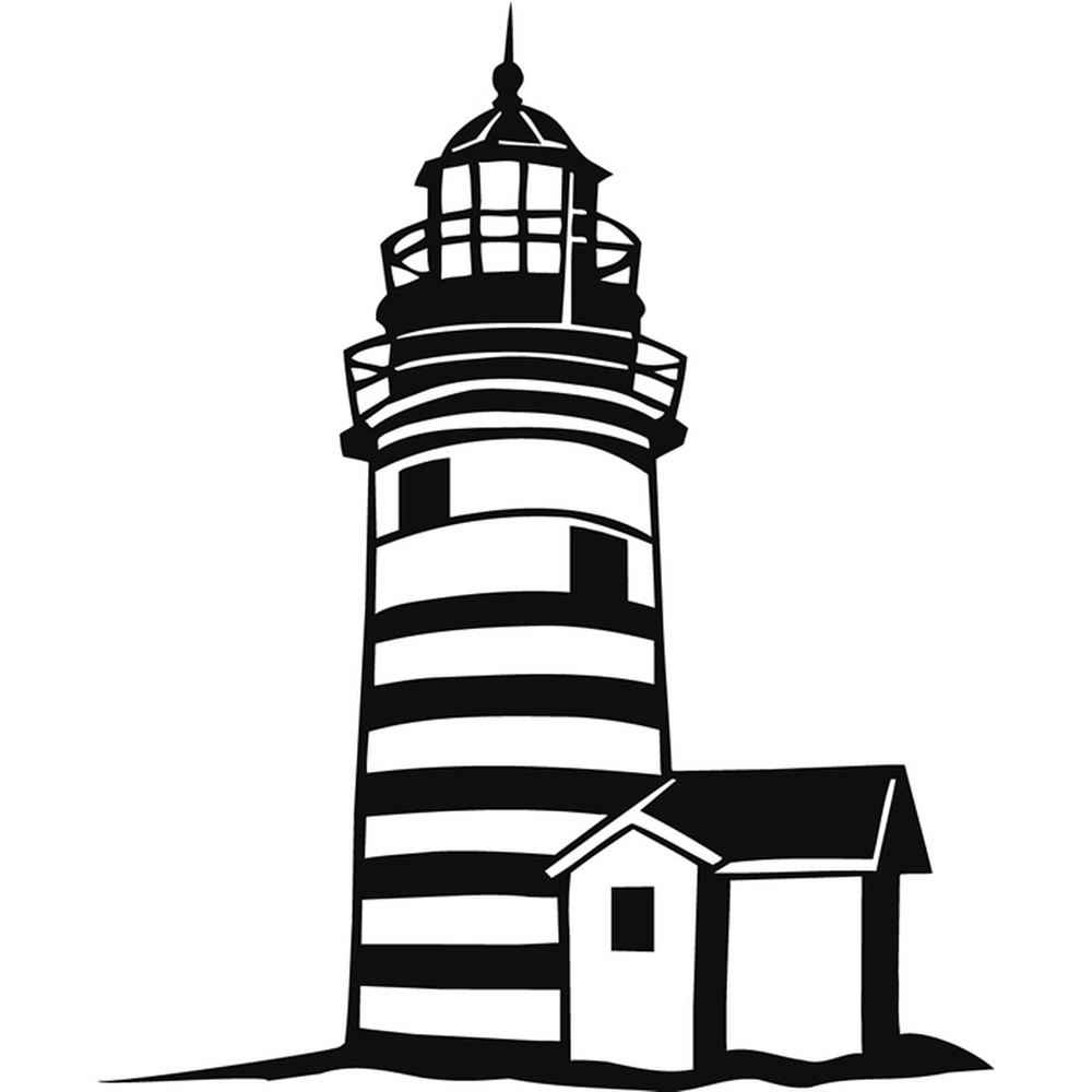 lighthouse beach nautical wall sticker ws 18903 ebay 18903 | ws 18903