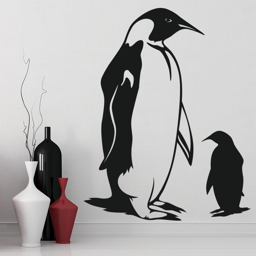 penguin wall sticker baby penguin wall decal under the sea home