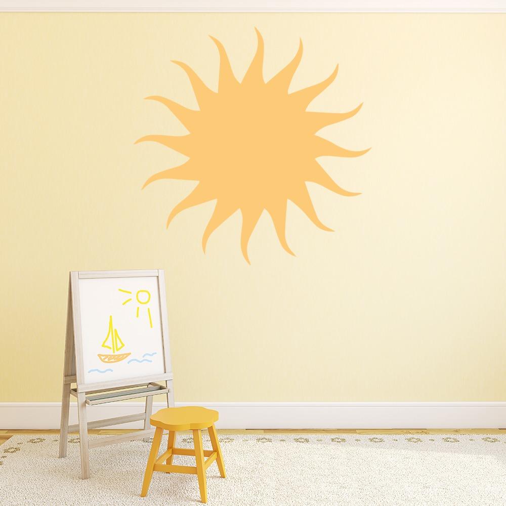 Sun Wall Sticker Weather Wall Decal Nursery Kids Home Decor | eBay