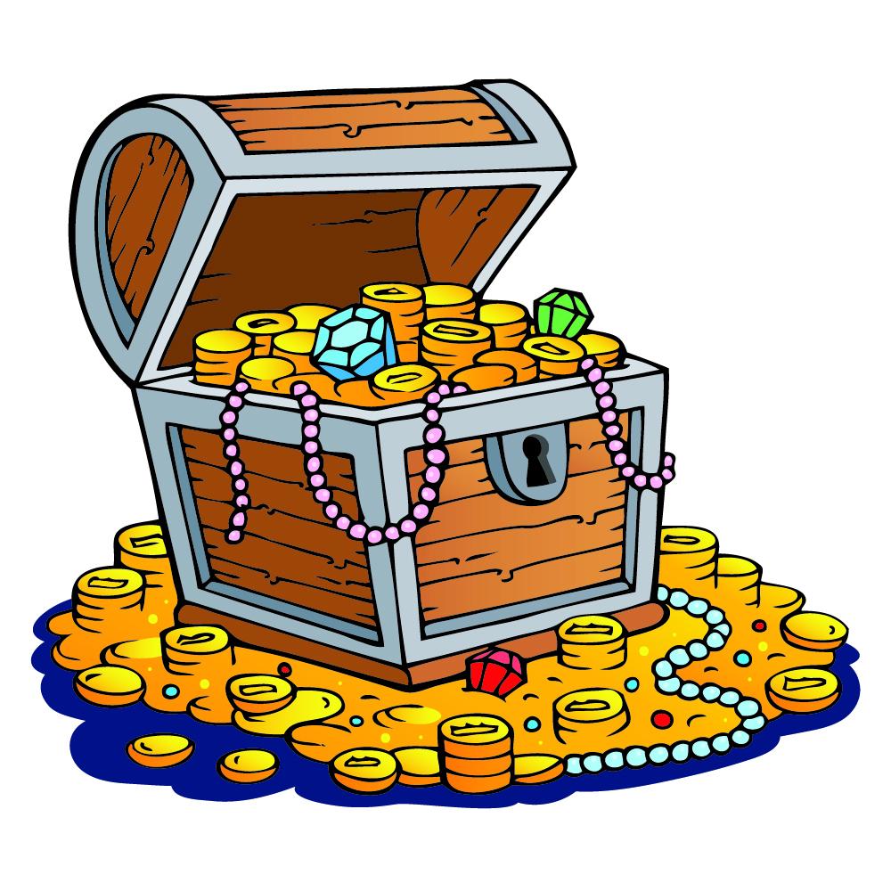 Pirate Treasure Chest Wall Decal Sticker Ws 41045 Ebay