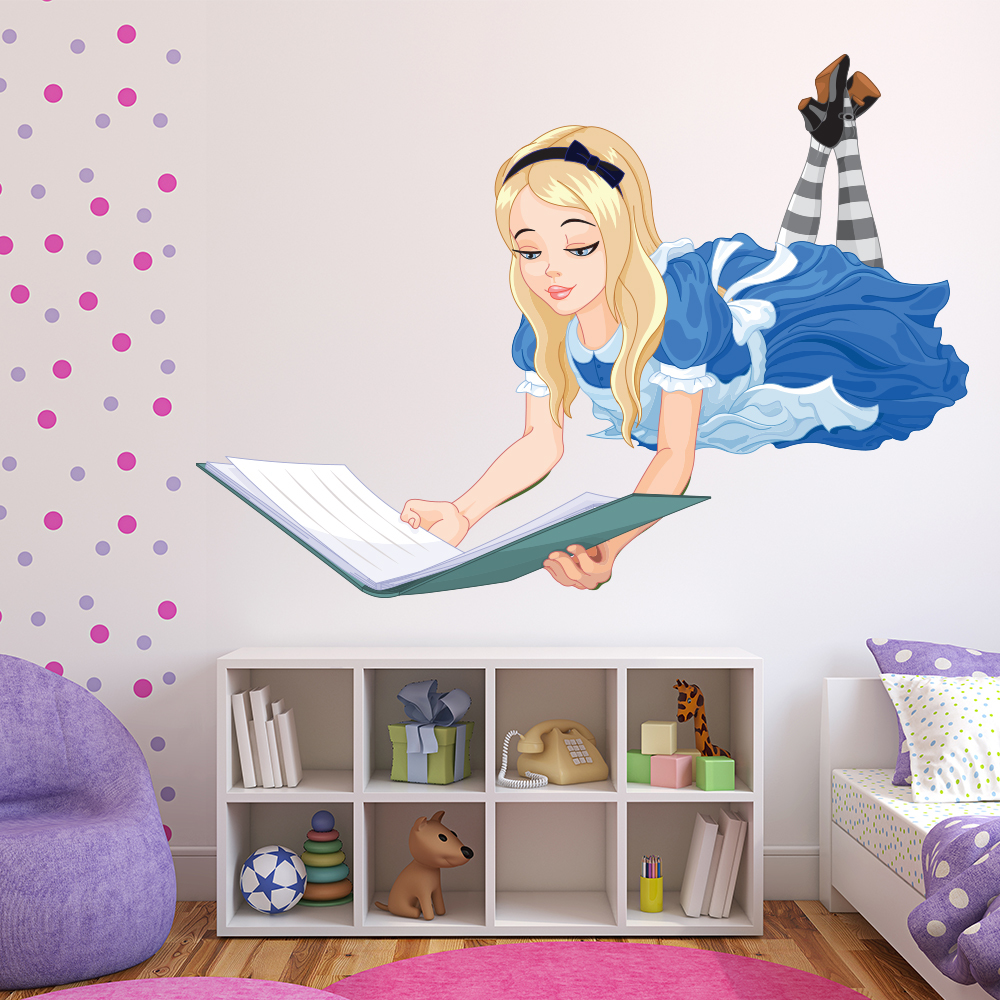Alice In Wonderland Wall Sticker Fairytale Wall Decal