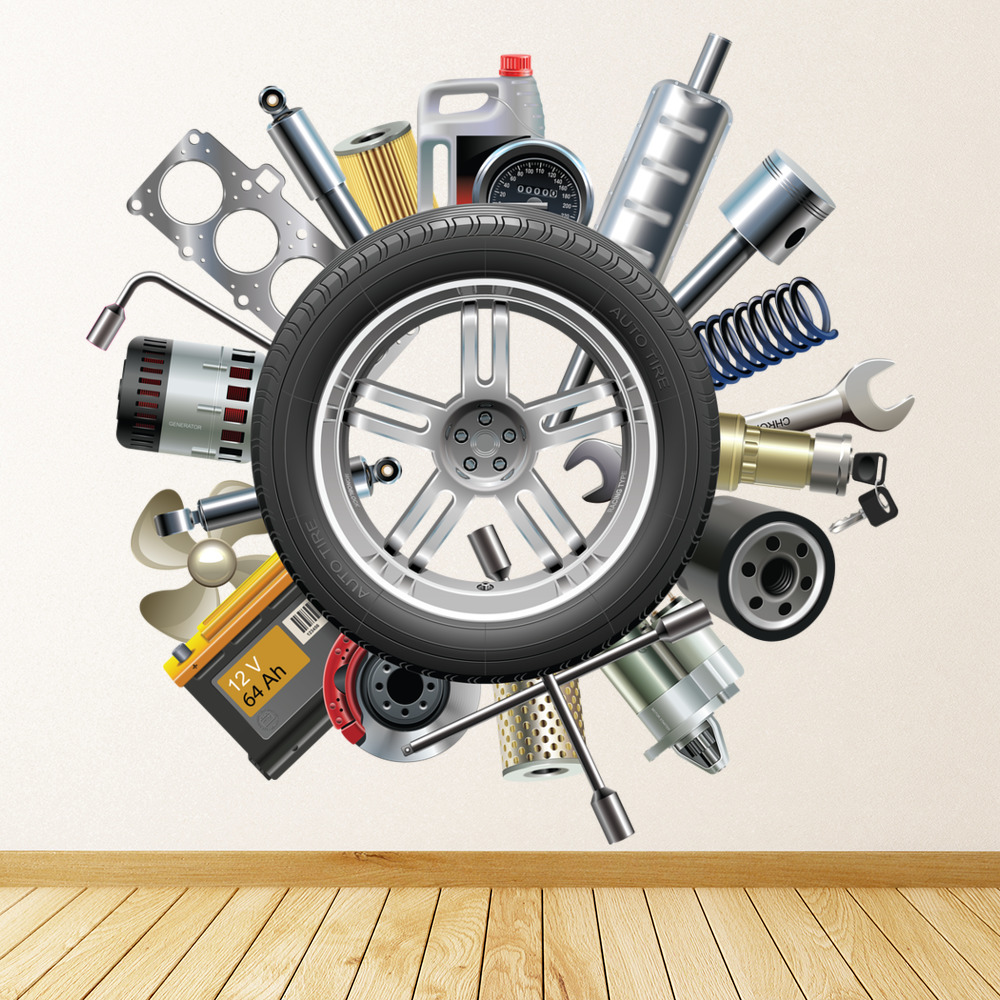 Car Parts Wall Decor Wall Decor Ideas