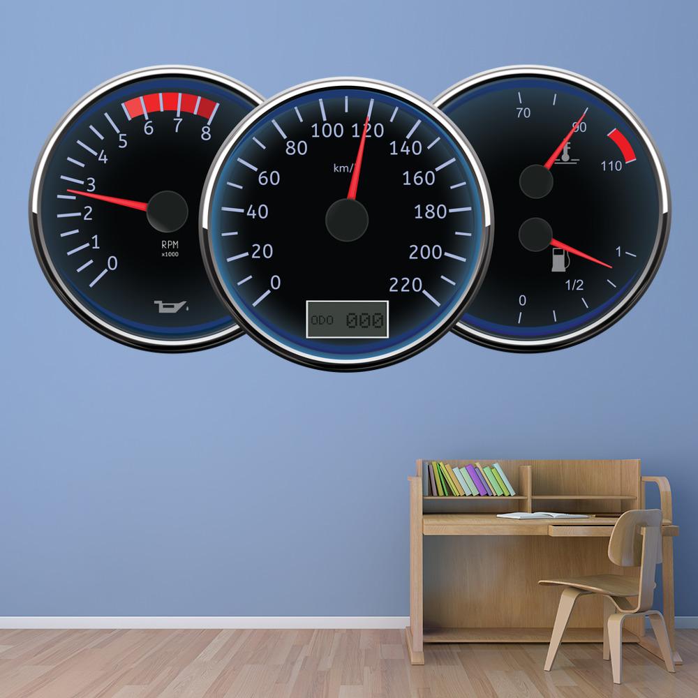 Details about speedometer speedo wall sticker ws 41210