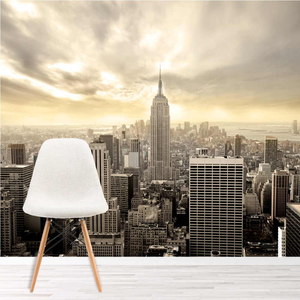 Details About Skysers New York Wall Mural City Skyline Photo Wallpaper Living Room Decor