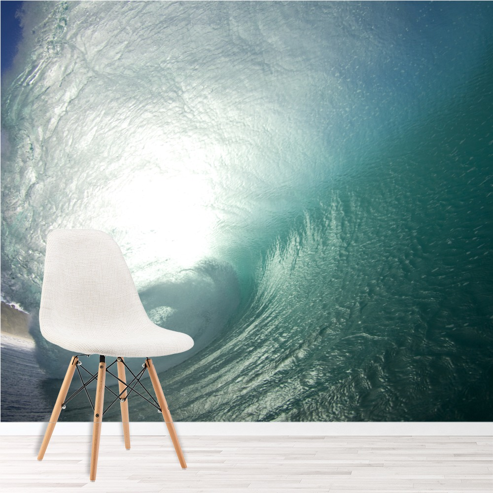 Details About Surf Wave Wall Mural Ocean Seascape Photo Wallpaper Bedroom  Bathroom Home Decor