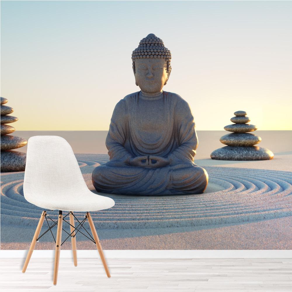 Buddha-Figur Fototapete Religion Tapete Schlafzimmer Haus Dekor | eBay