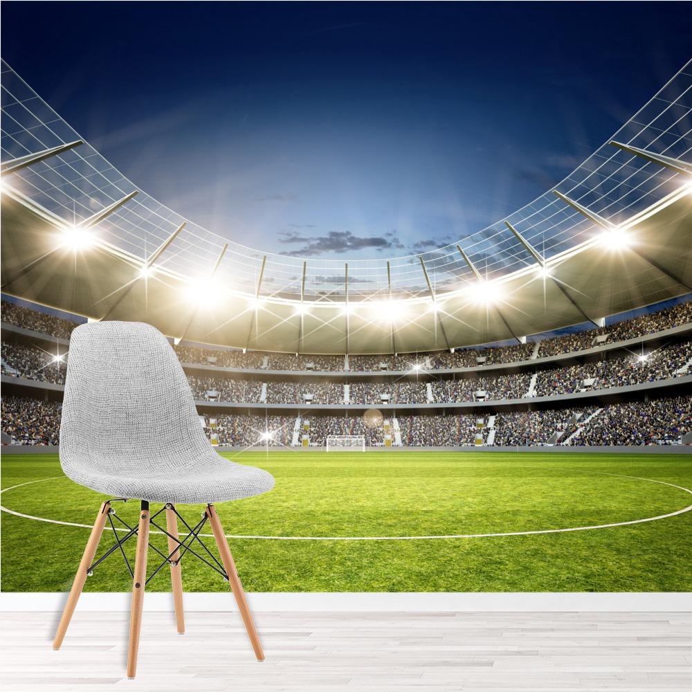Football Stadium Wall Mural Wallpaper WS-42561