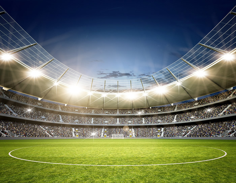 Football Wall Mural Football Stadium Photo Wallpaper Boys: Football Stadium Wall Mural Football Soccer Photo
