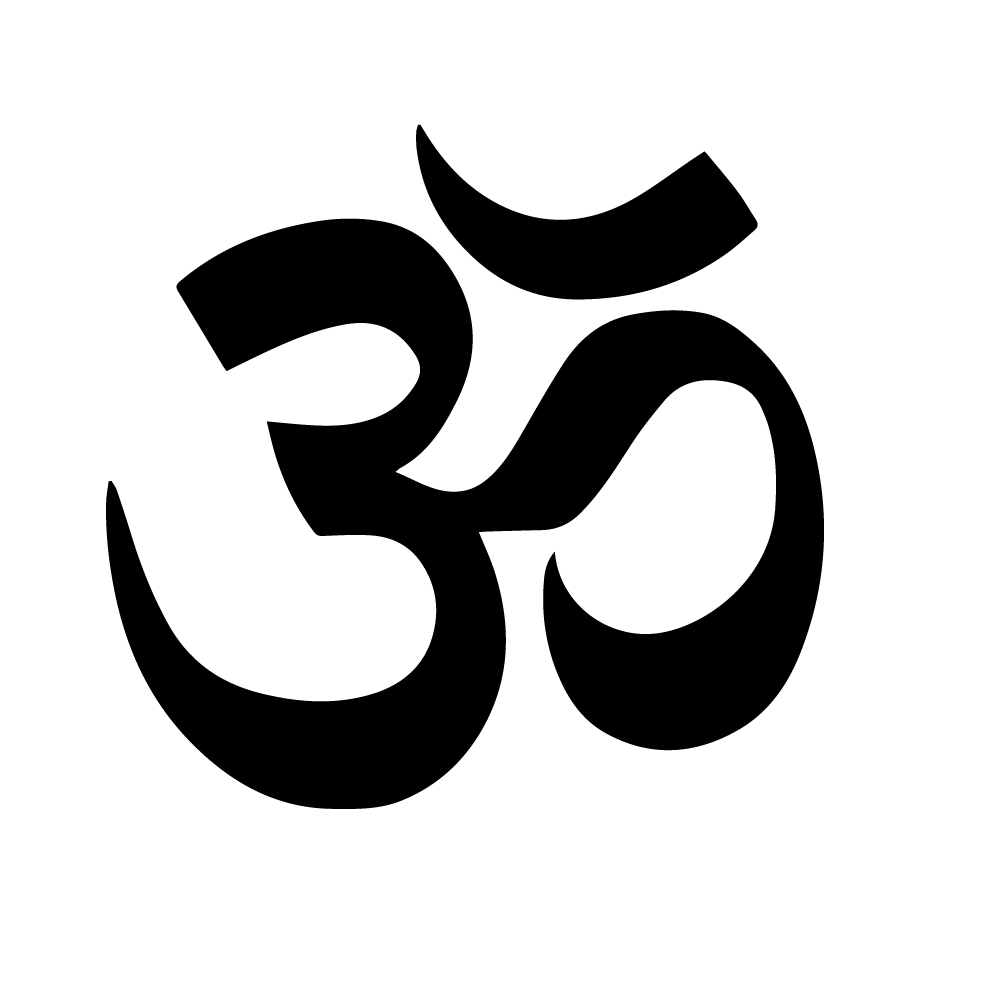 Hindu aum symbol wall sticker hinduism wall decal religion home description buycottarizona Image collections