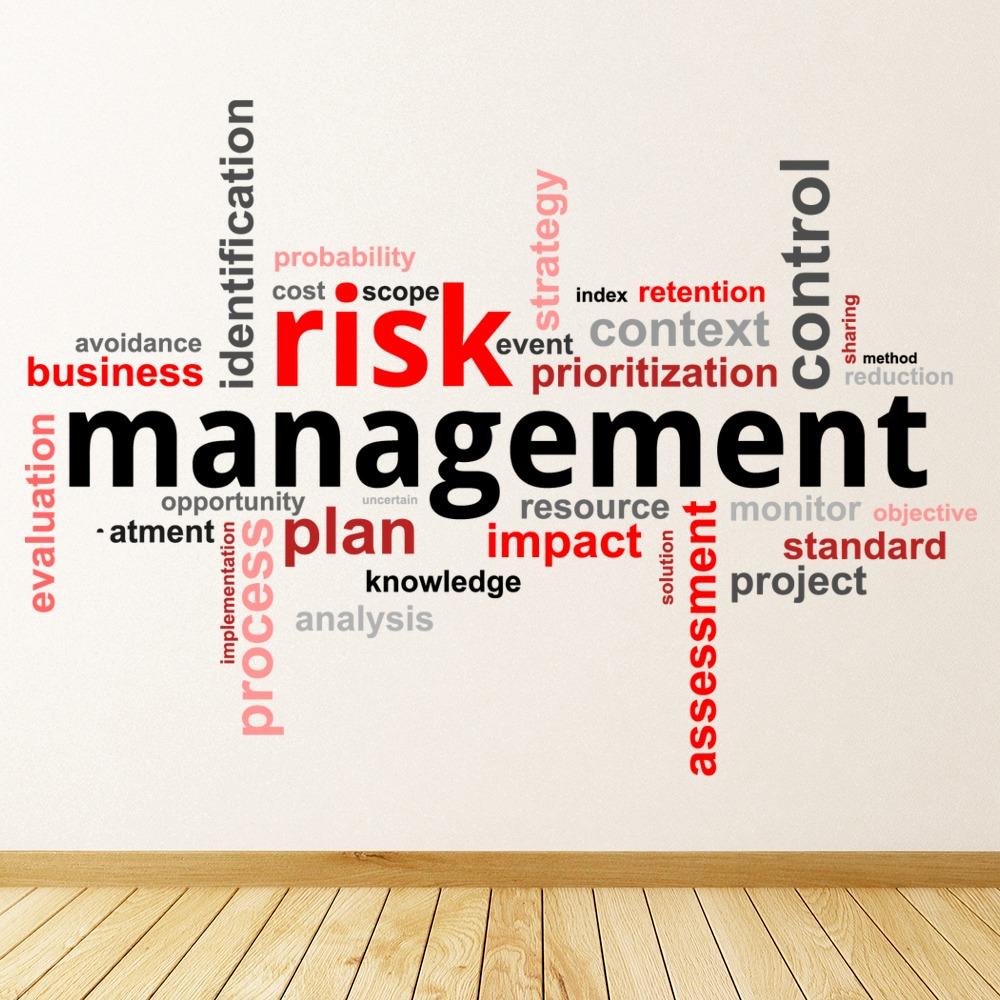 Gestion des risques Bureau Sticker Muraux WS-46101